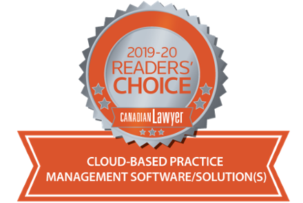 LexCloud Voted Top Cloud-Based Solution by Canadian Lawyers