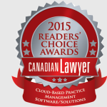 LexCloud.ca recognized as a Top Cloud Vendor in Canadian Lawyer Rankings 2015